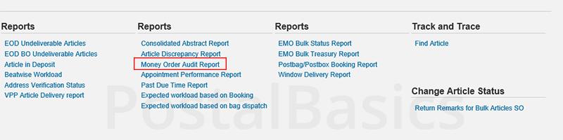 DPMS Reports