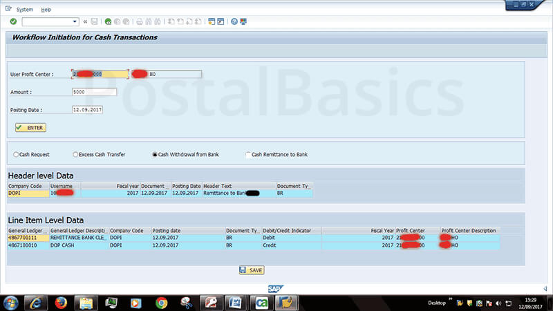 How to Draw Cash from Bank in CSI Post Office?